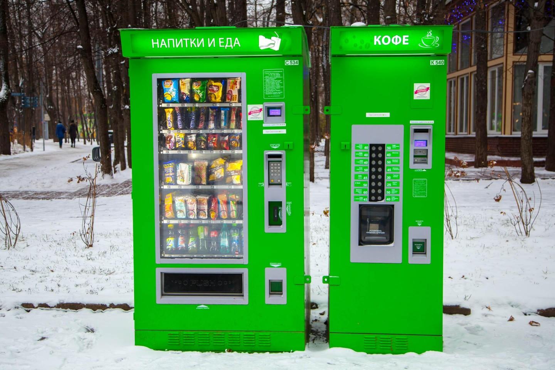 Автоматы с кофе, Парк «Сокольники», Москва — ParkSeason