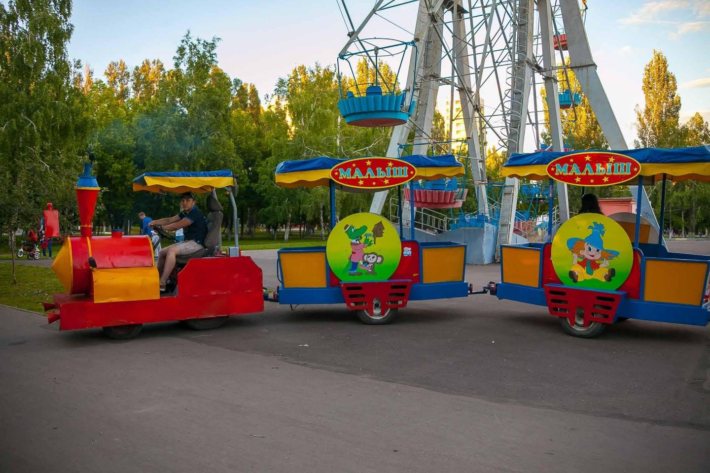 Детский паравозик — ParkSeason