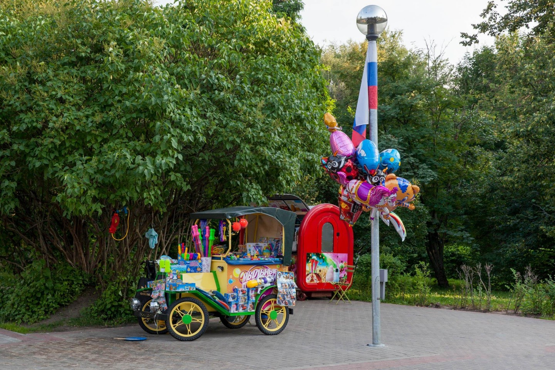 Детские игрушки, Парк «Северное Тушино», Москва — ParkSeason