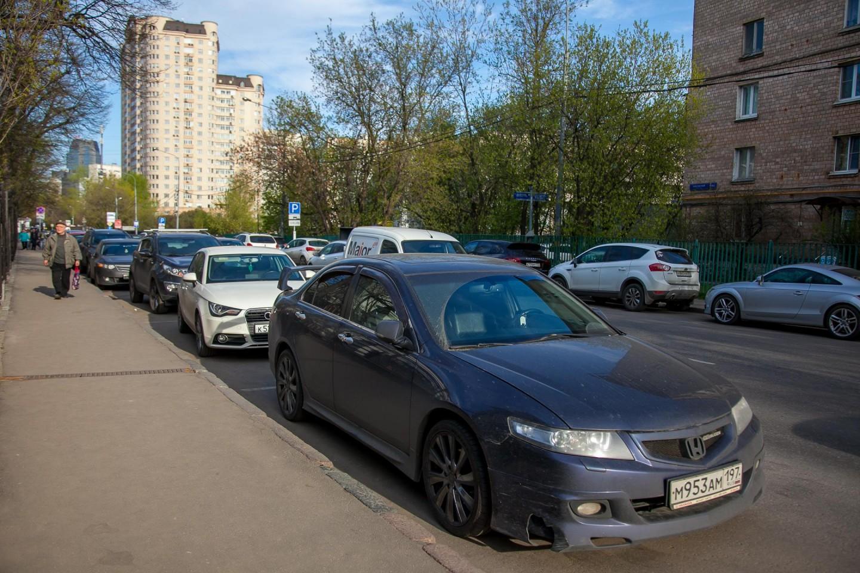 Московский паркинг №3005, Аптекарский огород, Москва — ParkSeason