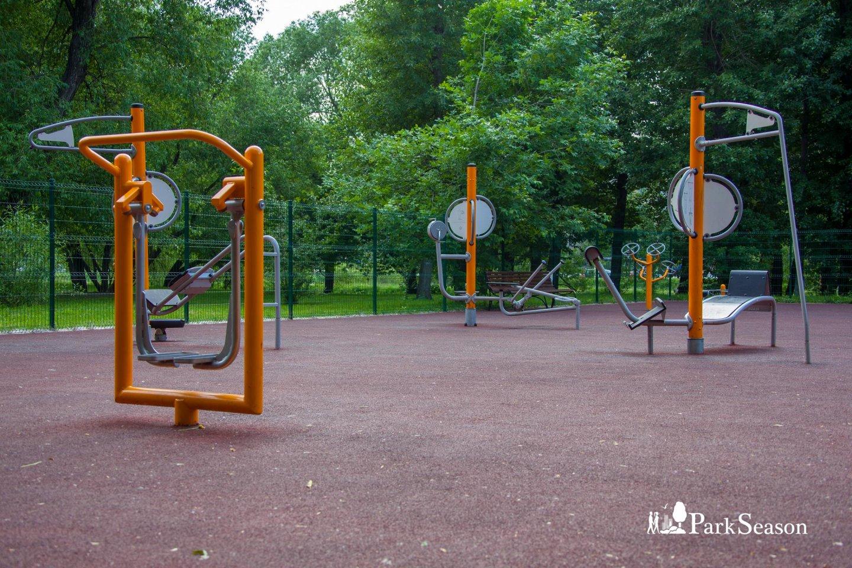 Уличные тренажеры, Усадьба «Лефортово», Москва — ParkSeason