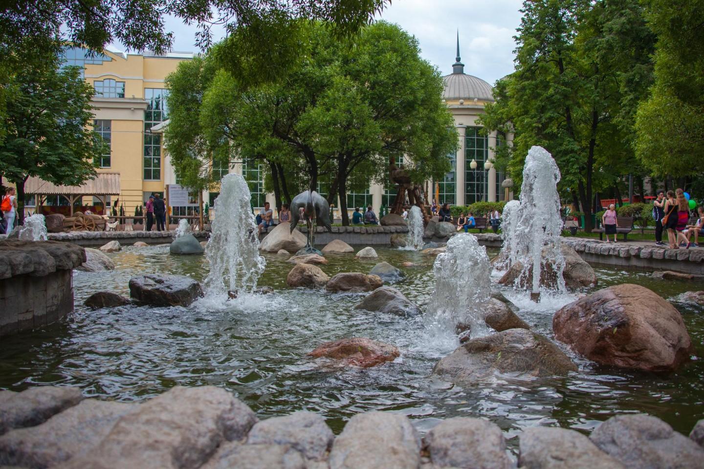 Фонтан, Чистые пруды, Москва — ParkSeason