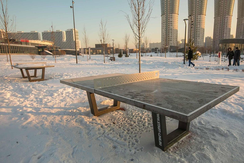 Настольный теннис, Ходынское поле, Москва — ParkSeason