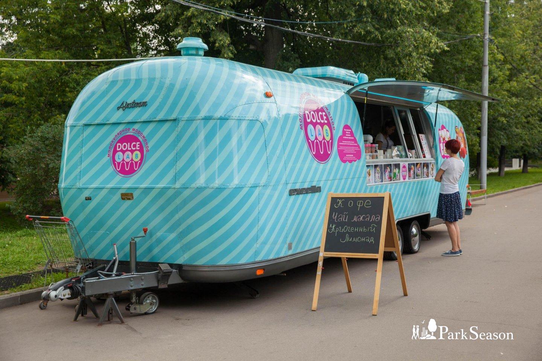 Фудтрак Dolce Lab, Парк «Красная Пресня», Москва — ParkSeason