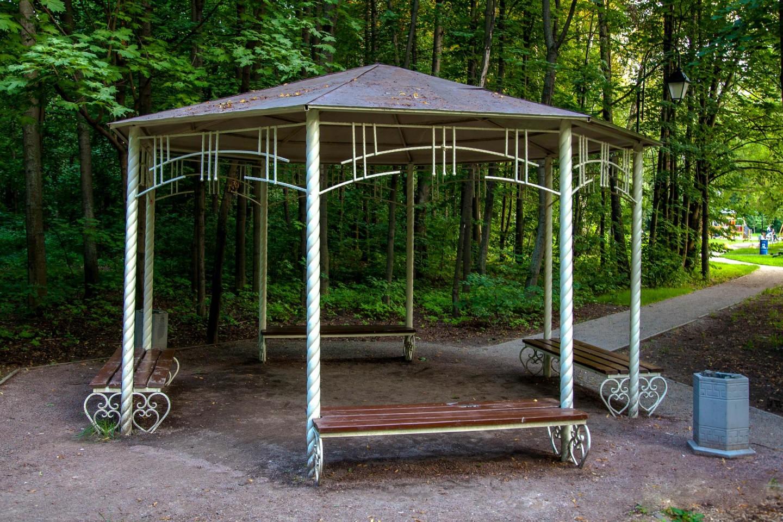Беседка, Парк «Сокольники», Москва — ParkSeason