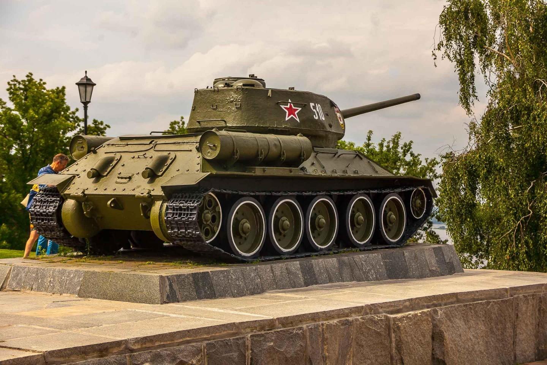 Танк Т-34 — ParkSeason