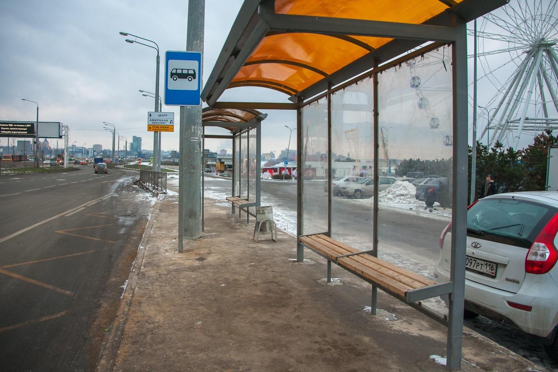 Остановка общественного транспорта «Ул. Сибгата Хакима» — ParkSeason