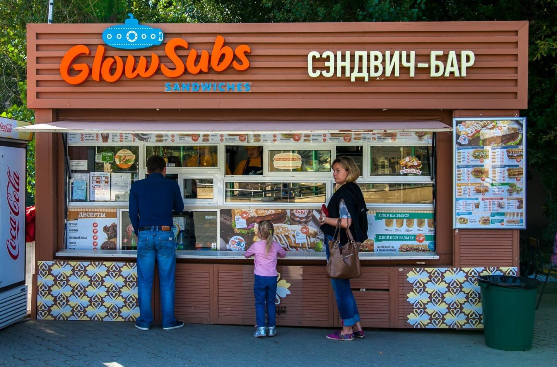 Киоск GlowSubs, Московский зоопарк, Москва — ParkSeason