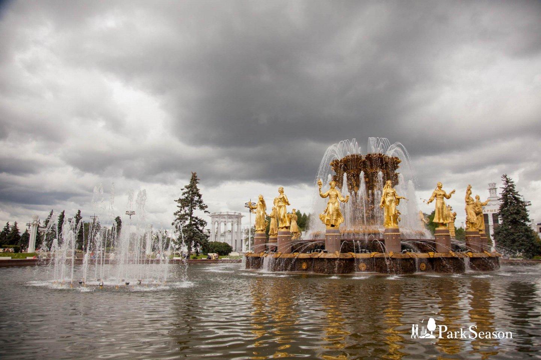 Фонтан «Дружба Народов», ВДНХ, Москва — ParkSeason