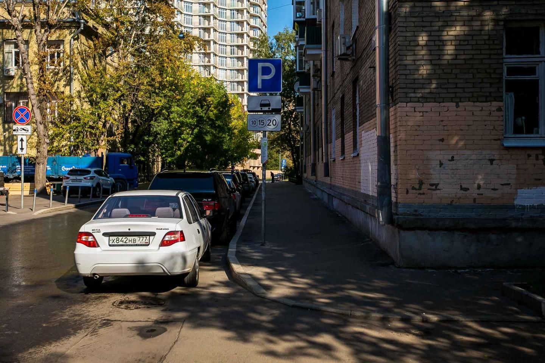 Парковка, Делегатский парк, Москва — ParkSeason