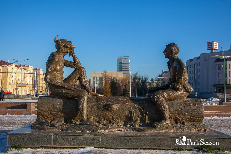 Скульптурная композиция «Загадки Шурале» — ParkSeason