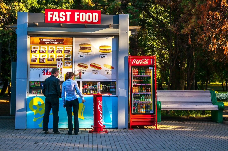 Киоск Fast food, Парк Северного речного вокзала, Москва — ParkSeason