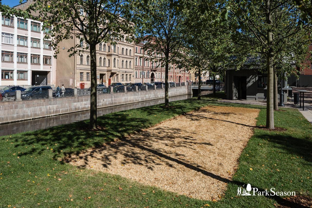 Площадка для игры в петанк — ParkSeason