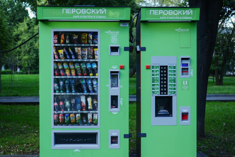 Автомат «Еда и Напитки», Парк «Перовский», Москва — ParkSeason