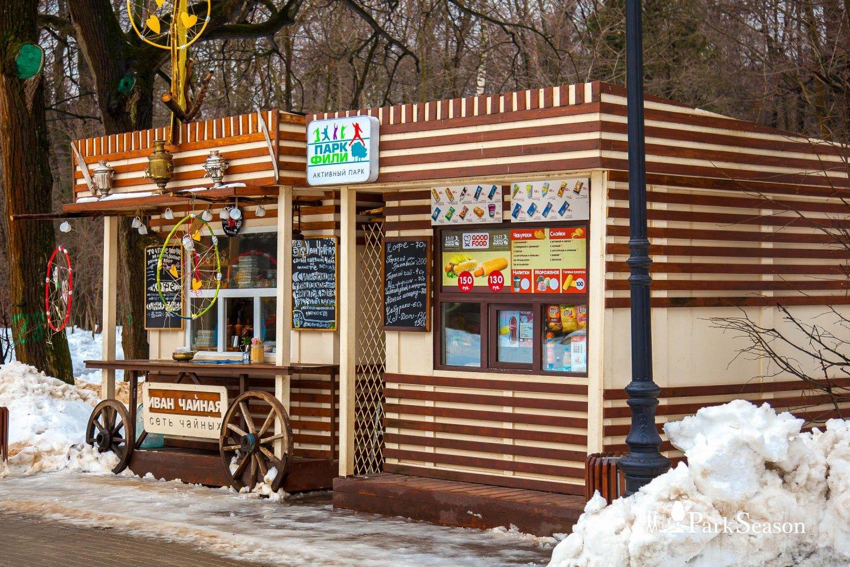 Киоск «Иван Чайная», Парк «Фили», Москва — ParkSeason
