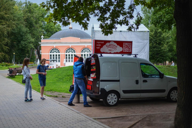 Кофейня «Кофельяно», Усадьба «Воронцово», Москва — ParkSeason