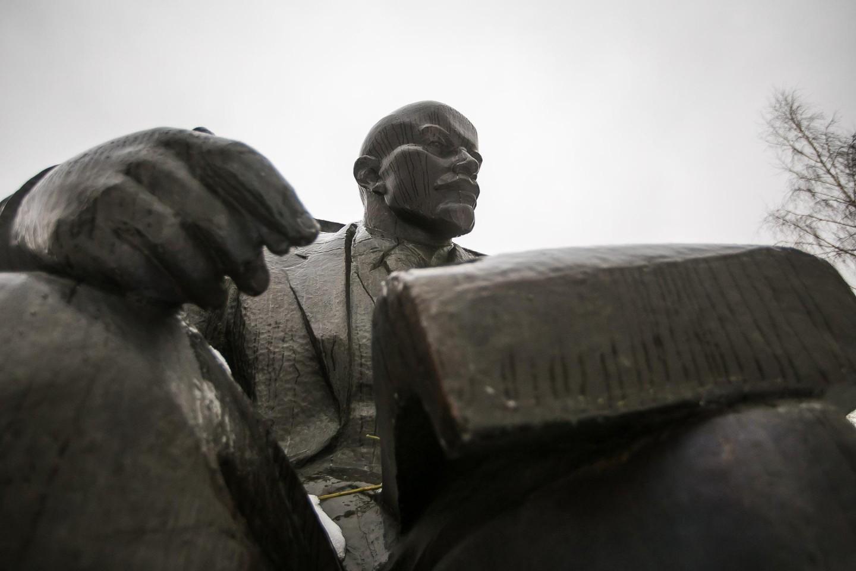 Памятник В. И. Ленину, Парк «Красная Пресня», Москва — ParkSeason