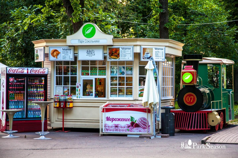 Фирменный киоск, Парк «Сокольники», Москва — ParkSeason