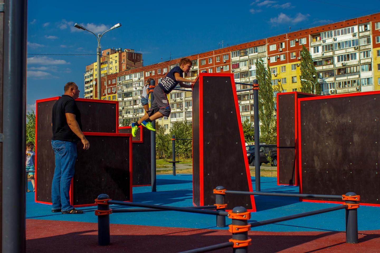 Спортивная площадка «Parkour» — ParkSeason