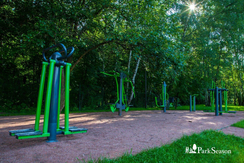Уличные тренажеры, Парк «Сокольники», Москва — ParkSeason