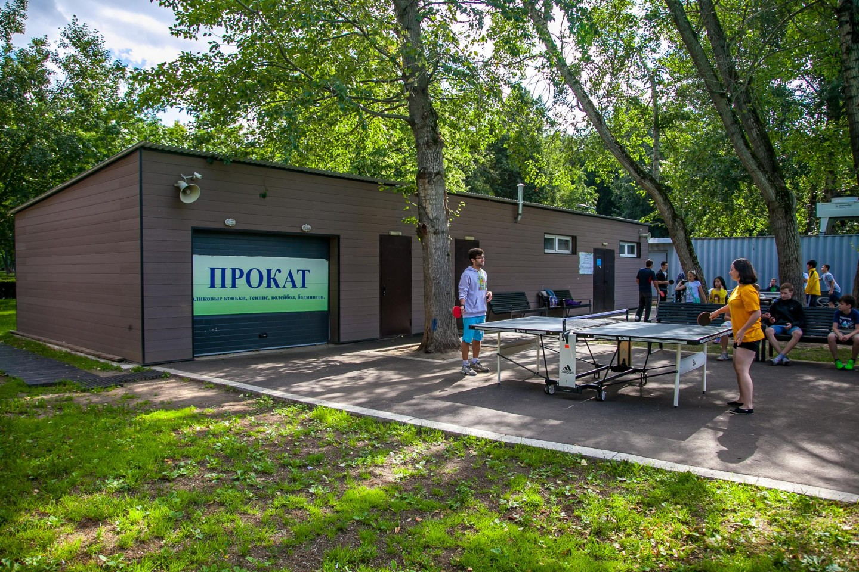 Настольный теннис, Гончаровский парк, Москва — ParkSeason