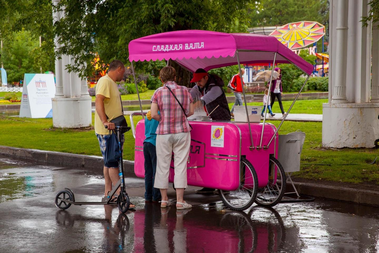 Сладкая сахарная вата, ВДНХ, Москва — ParkSeason
