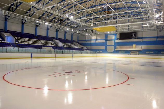 Ледовая арена «Баско» в парке Петрова (Казань) — ParkSeason