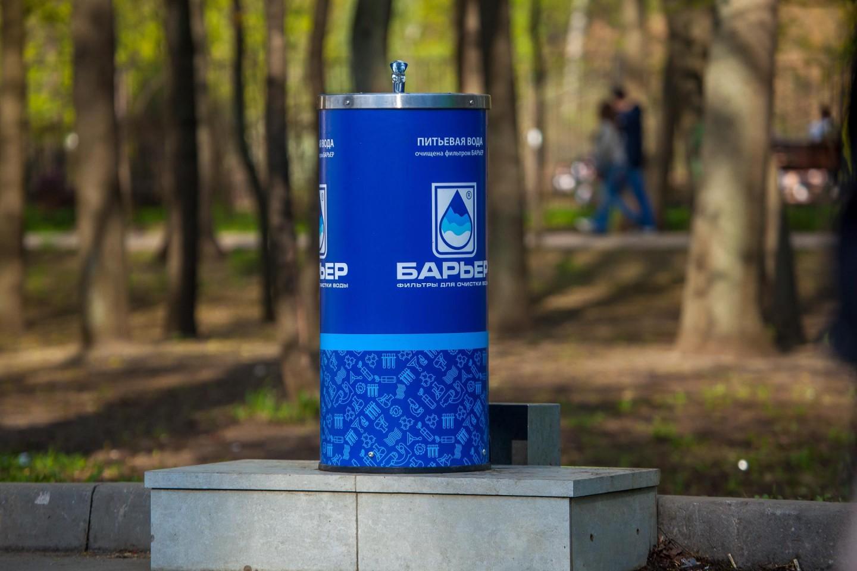 Питьевой фонтанчик, Парк «Сокольники», Москва — ParkSeason