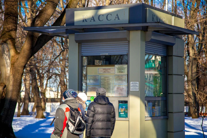 Касса Голландского домика Петра I, Усадьба «Коломенское», Москва — ParkSeason