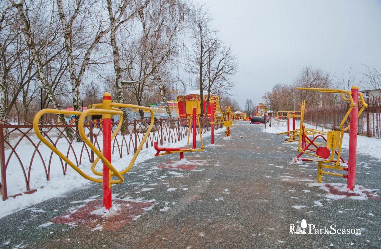 Уличные тренажеры, Усадьба «Воронцово», Москва — ParkSeason