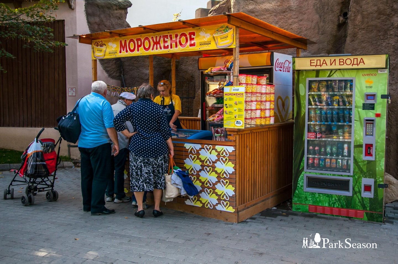 Ларек «Мороженое», Московский зоопарк, Москва — ParkSeason