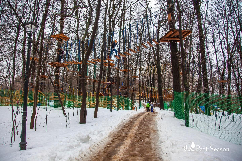 Веревочный парк «ПандаПарк», Парк «Фили», Москва — ParkSeason