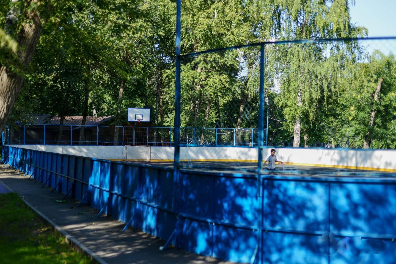 Спортивная площадка, Парк «Перовский», Москва — ParkSeason