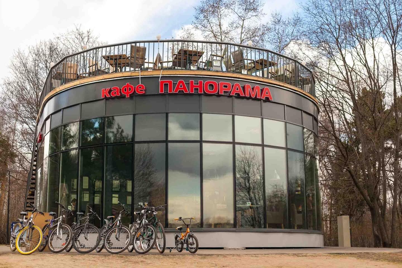 Кафе «Панорама», Парк «Кузьминки», Москва — ParkSeason