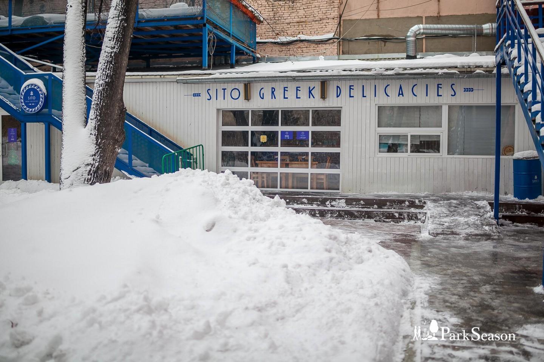 Кафе Sito, Сад им. Баумана, Москва — ParkSeason