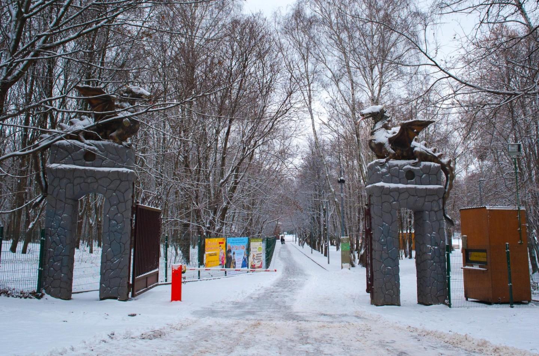 Вход в лесопарк, Парк «Кузьминки», Москва — ParkSeason