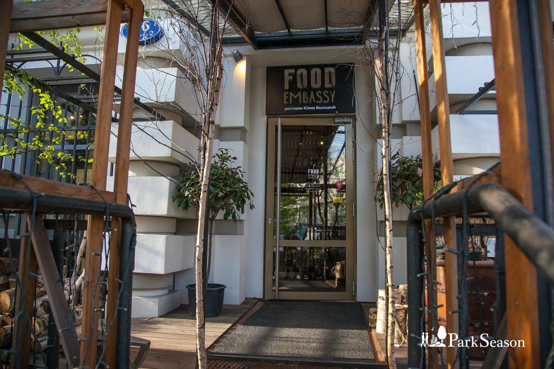 Ресторан Food Embassy, Аптекарский огород, Москва — ParkSeason
