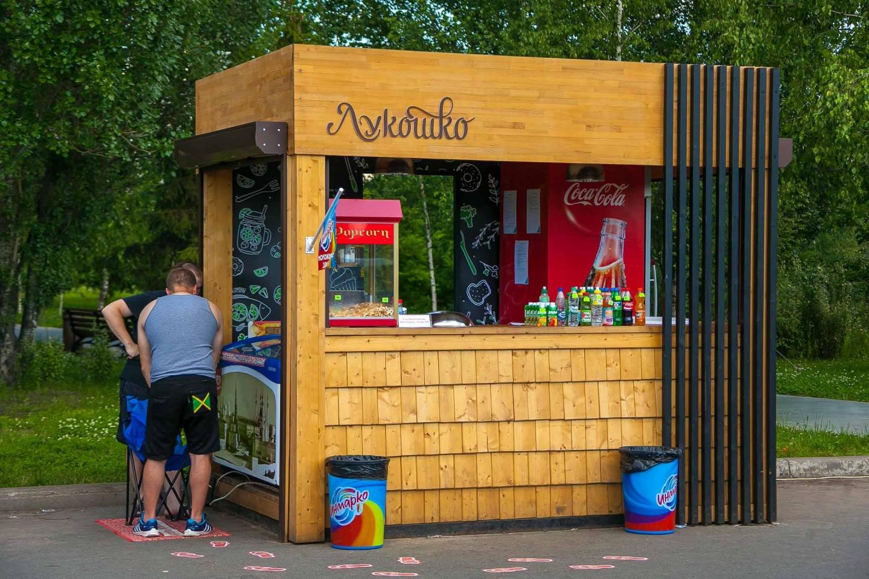 Уличное кафе «Лукошко» — ParkSeason