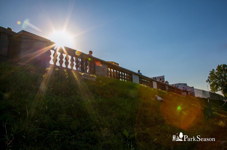 Смотровая площадка, Воробьевы горы, Москва — ParkSeason