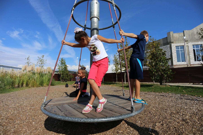 Детская площадка «Эксперименты». — ParkSeason
