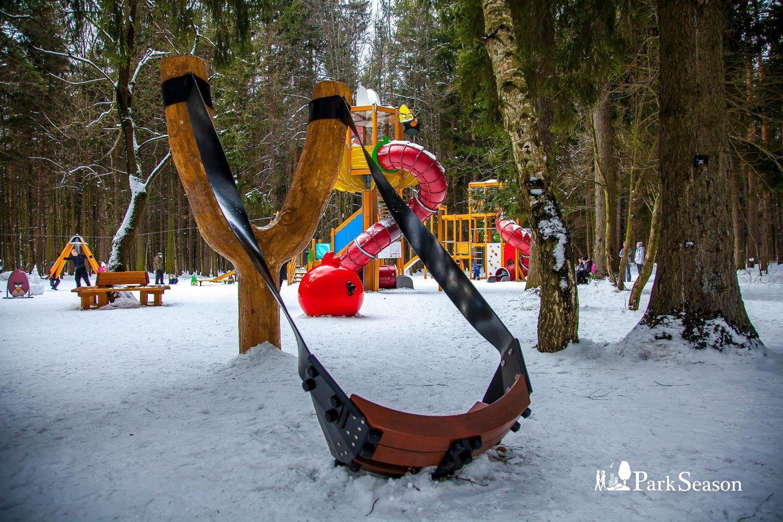Площадка Angry Birds, Парк «Мещерский», Москва — ParkSeason