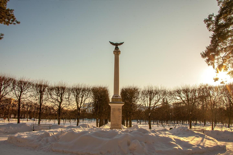 Мемориальная колонна в честь императора Николая I, Музей-усадьба «Архангельское», Москва — ParkSeason