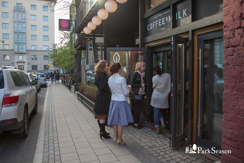 Киоск Coffee & Milk, Аптекарский огород, Москва — ParkSeason