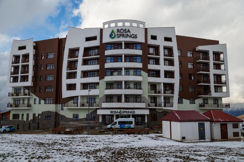 Бальнео-отель Rosa Springs 4* — ParkSeason