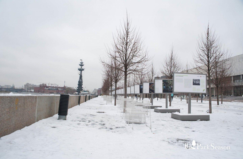 Крымская набережная, «Музеон», Москва — ParkSeason
