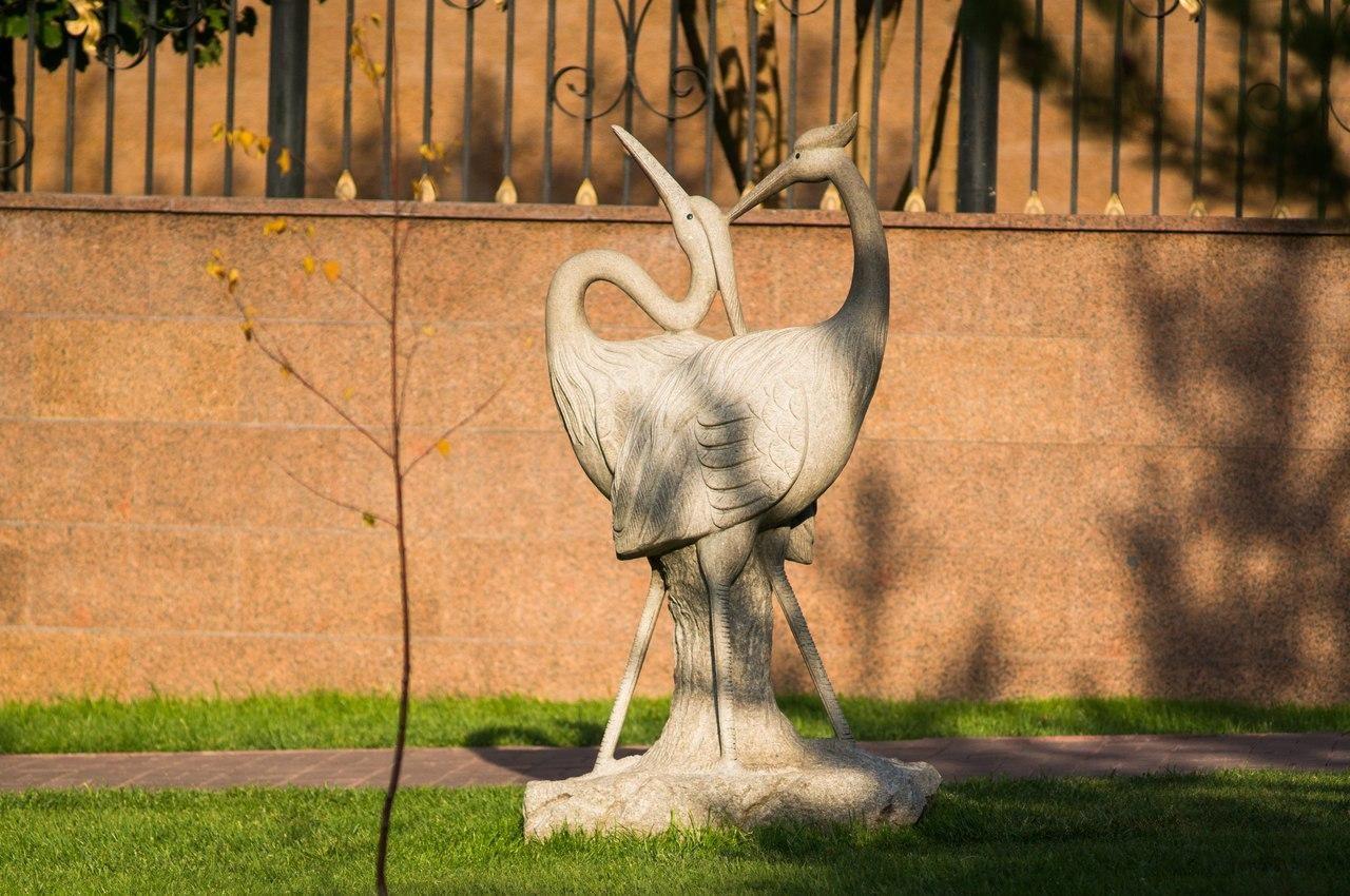 Скульптура Цапли — ParkSeason