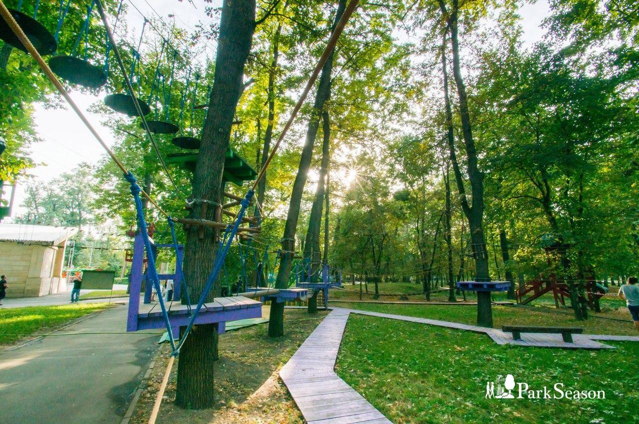 Веревочный парк «Бамбу» — ParkSeason