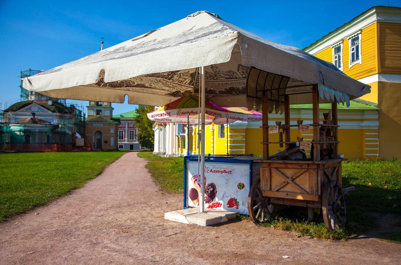 Мороженое, Усадьба Кусково, Москва — ParkSeason