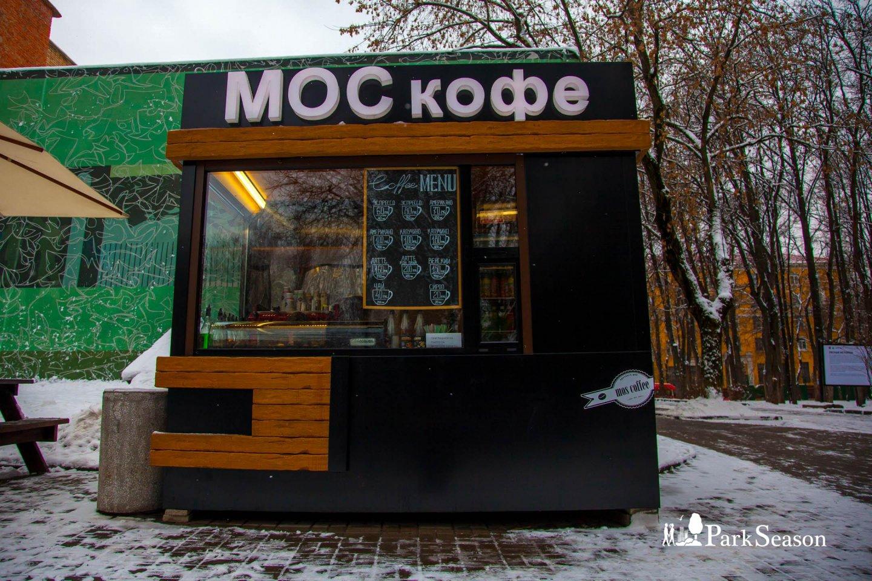 Киоск «МОСкофе», Парк «Бабушкинский», Москва — ParkSeason