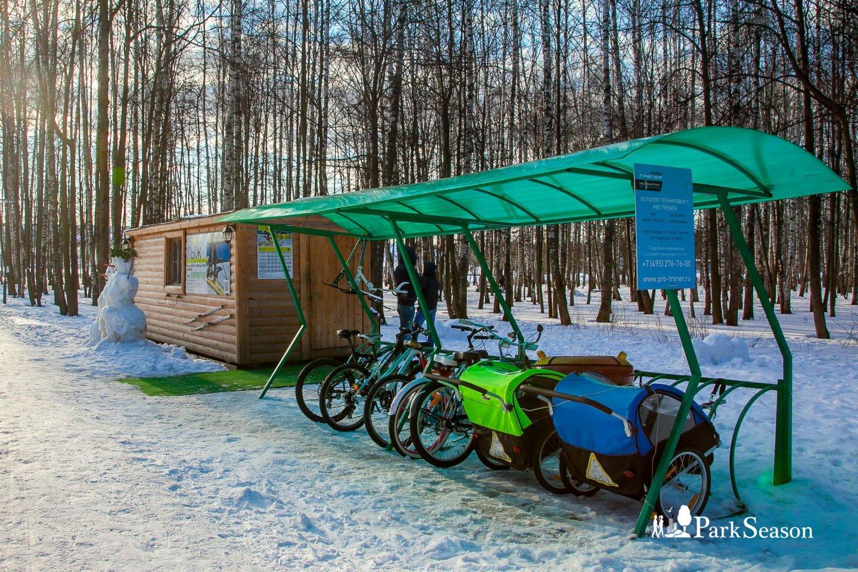 Прокат велосипедов, Парк «Мещерский», Москва — ParkSeason